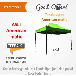 Tenda Lipat 2×3 m