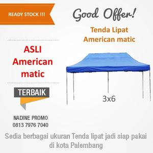 Tenda Lipat 3x6 Palembang