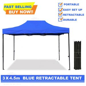 Tenda lipat 3x4,5 meter