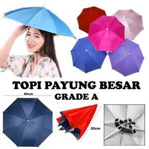 Topi Payung Kepala Palembang