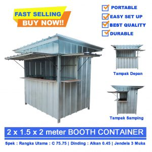 Booth Container Palembang